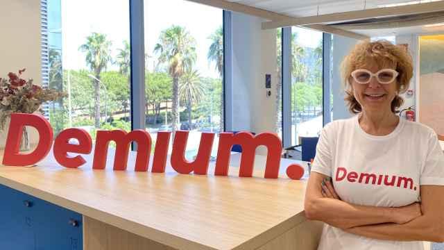 Nina Alastruey está al frente del equipo de Demium Barcelona.