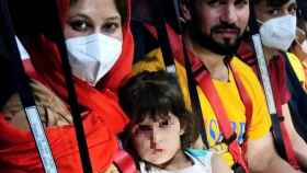 Tres de los ocupantes del segundo avión del Ejército en Kabul.