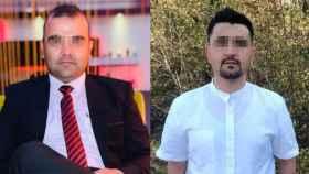 Hayatullan (izquierda) era el encargado de la centralita en la base de Qala-e-now. Safiulla (derecha) fue intérprete en el hospital de Herat.
