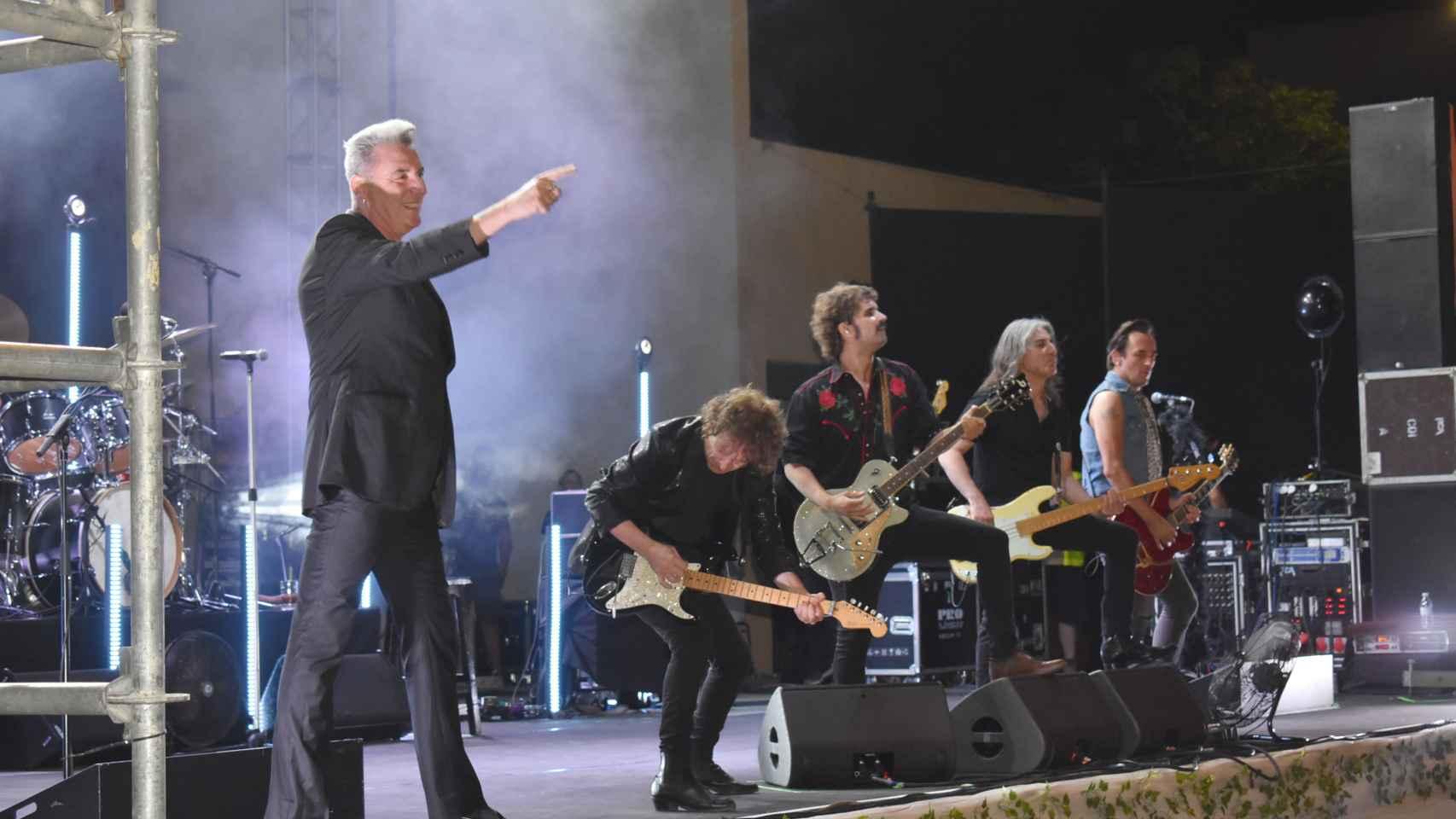 Loquillo y su banda actuaron este viernes en Ciudad Real