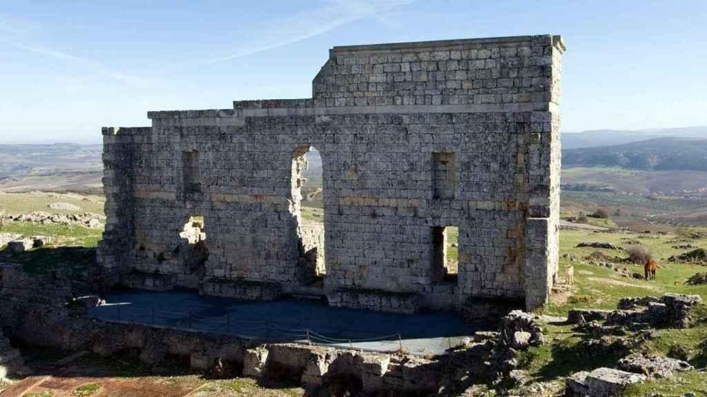 Cerca de Ronda encontramos el espectacular conjunto arqueológico de Acinipo.