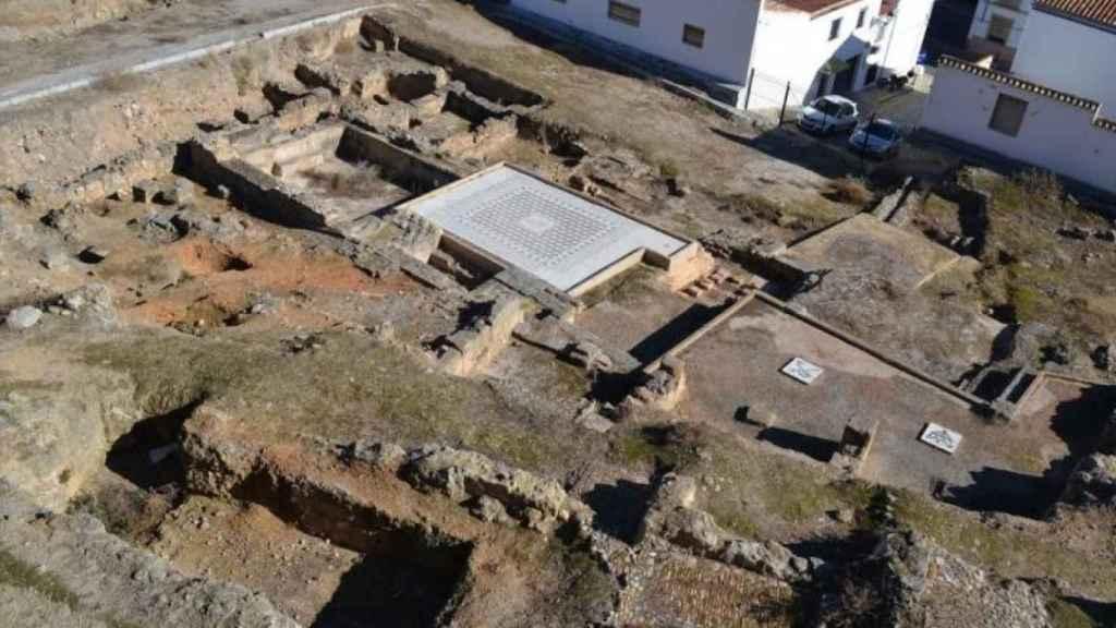 Las termas de Antequera señalan el lugar donde se levantó la ciudad romana de Antikaria