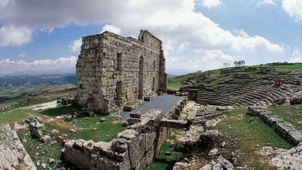 Las vistas desde Acinipo recorren varias provincias andaluzas
