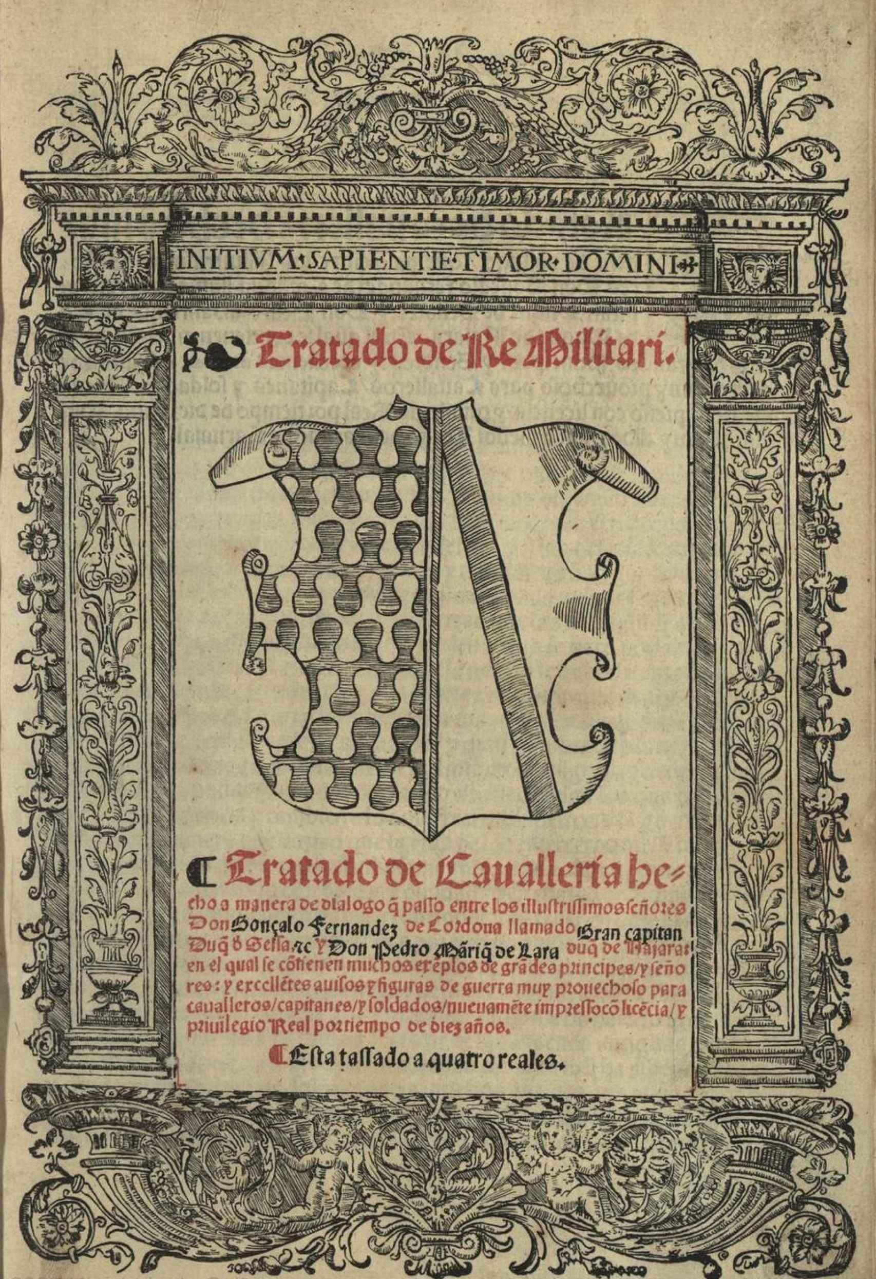 Tratado Militar de Gonzalo de Córdova, el Gran Capitán.
