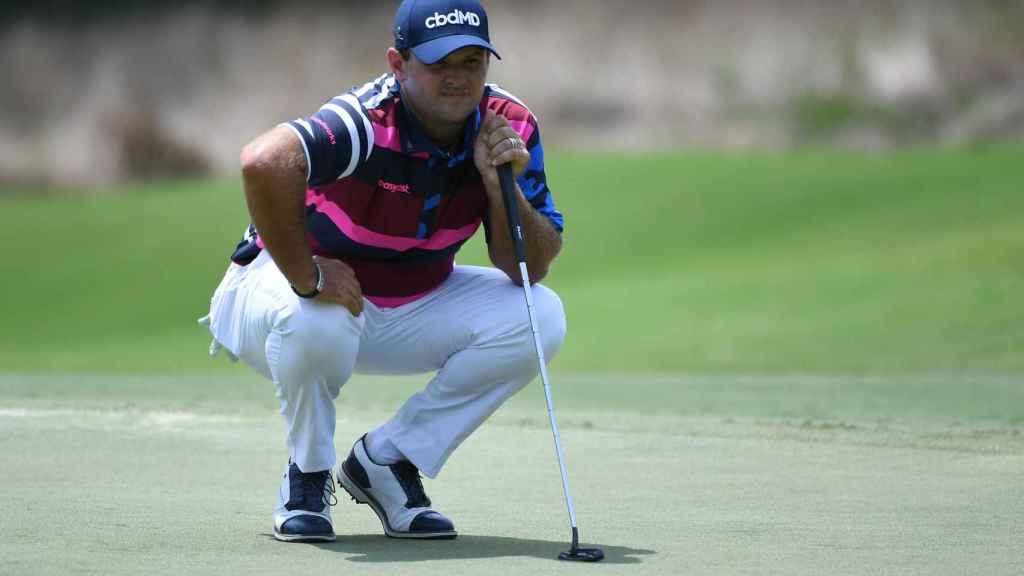 Patrick Reed, durante el torneo de golf WGC FedEx St. Jude