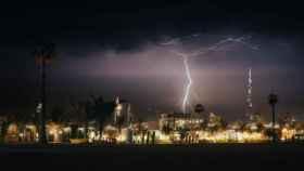 Una tormenta en Dubái.