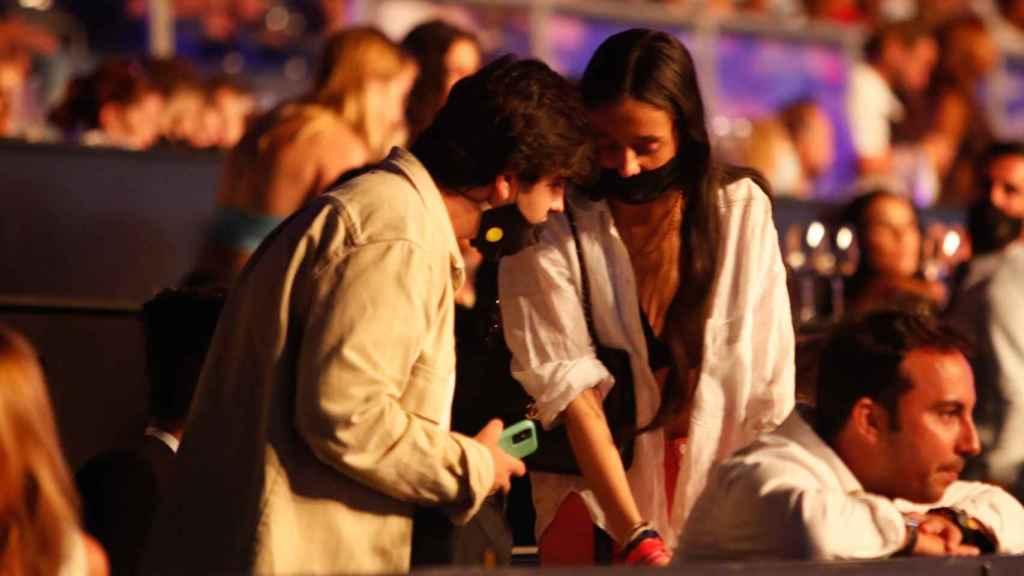 Victoria Federica y Jorge Bárcenas en el concierto de Nicky Jam.