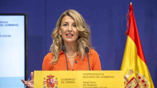 Yolanda Díaz, vicepresidenta segunda del Gobierno y ministra de Trabajo y Economía Social