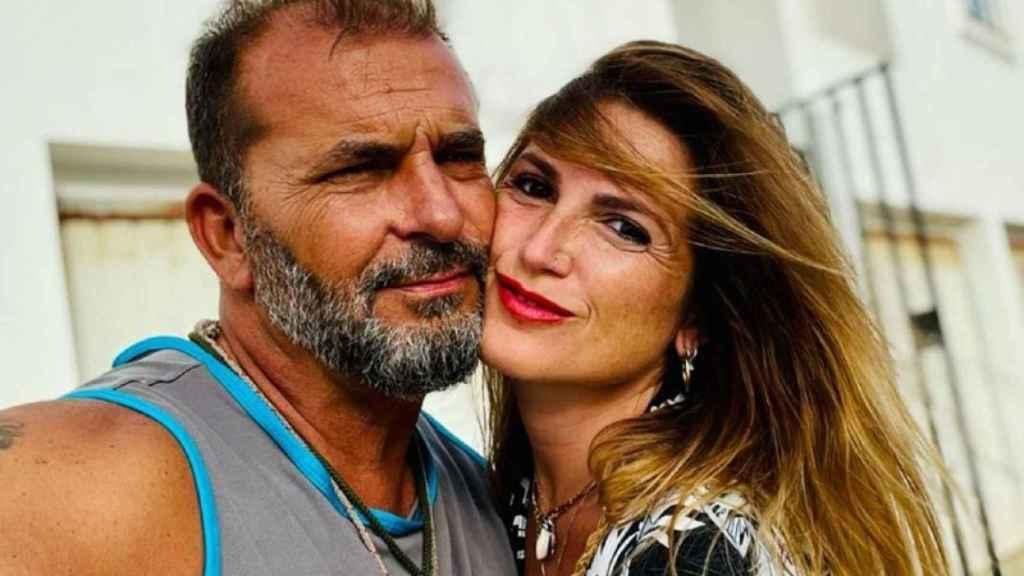 Miguel Temprano y Cristina Parejo, en una imagen de Facebook.