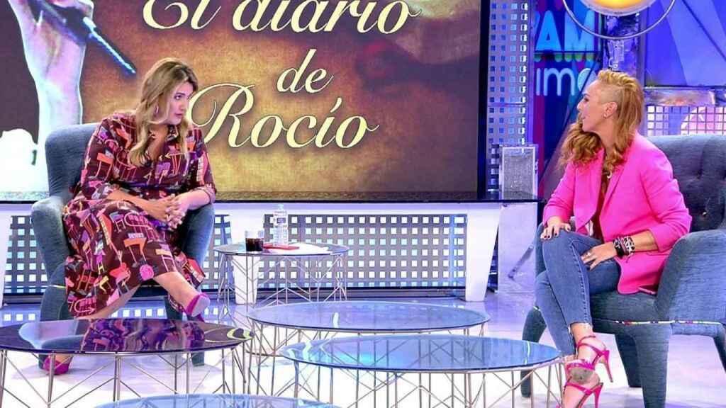 Carlota Corredera frena a Matamoros y Montero: En la violencia de género no cabe ningún debate