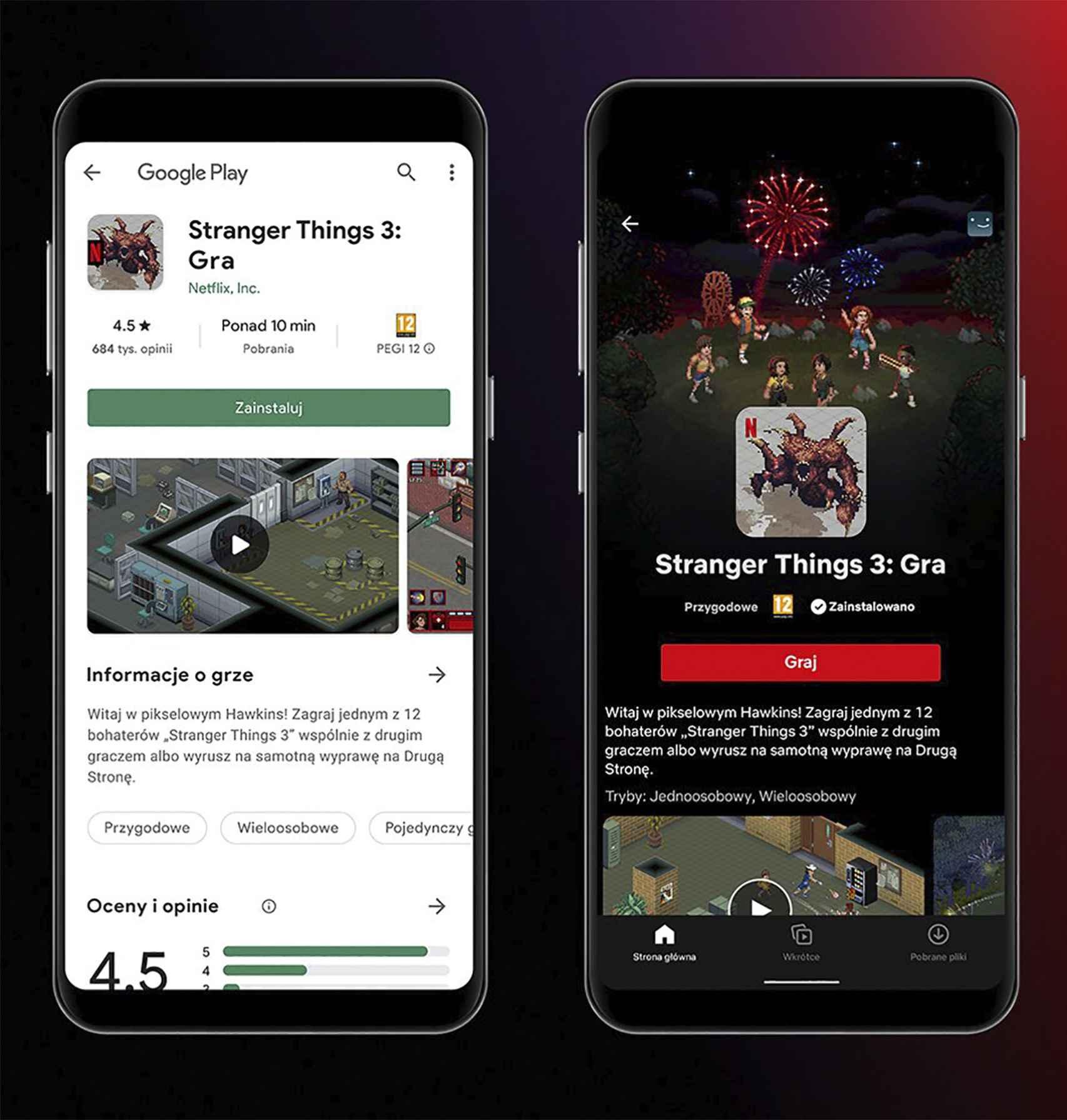 Stranger Things en Netflix Gaming
