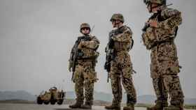 Militares alemanas en suelo afgano en 2018.