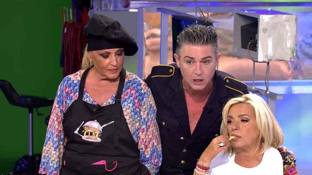 Ángel Garó interrumpió una discusión para mostrar su enfado con el programa.