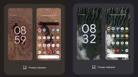 Live Wall Paper en el Google Pixel en Android 12