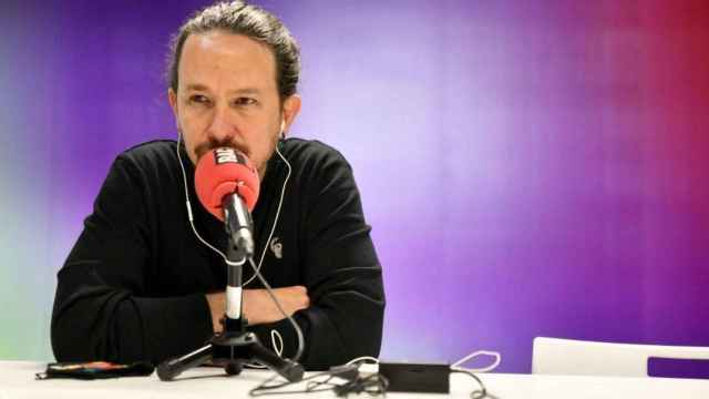 Pablo Iglesias en una de sus últimas entrevistas antes de abandonar la política. RAC1/Dani Gago.