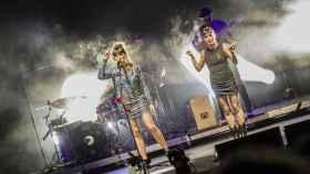 Un momento del concierto de Rozalén en Starlite Festival.