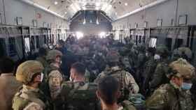 Soldados españoles que participaron en la operación de evacuación de Kabul.
