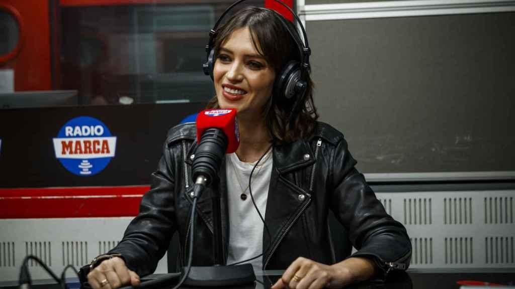 La periodista toledana Sara Carbonero