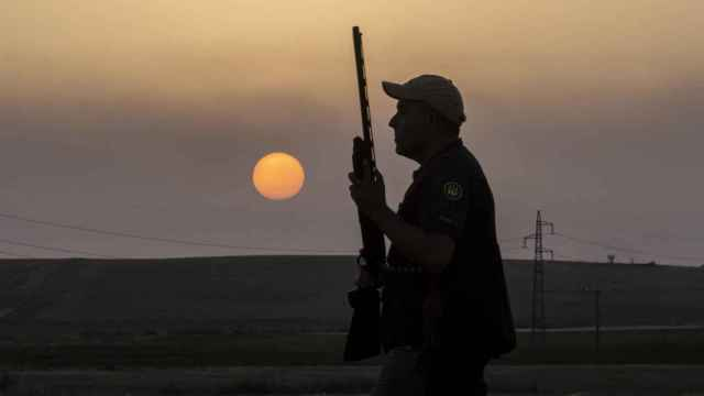 Imagen de archivo de un cazador