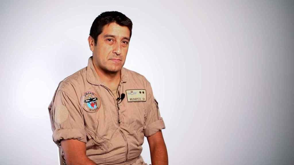 El teniente coronel del Ejército del Aire Armando Munayco.