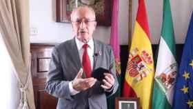 El alcalde de Málaga lanza un mensaje sobre la pandemia en redes sociales.