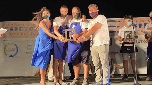 Entrega de premios del Concurso de Espetos Costa del Sol.