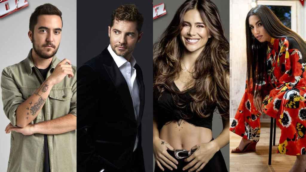 David Bisbal regresa a 'La Voz' y será asesor junto a Beret, Greeicy y María José Llergo