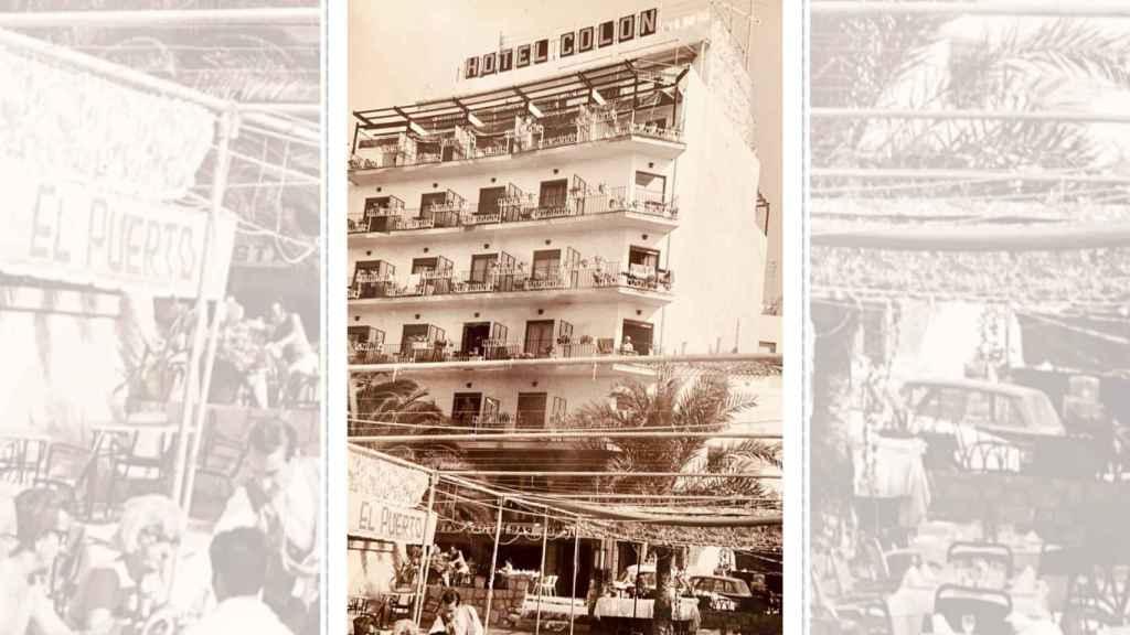 El Hotel Colón, de hospedar a Raphael hace 60 años a convertirse en el escenario de la serie 'Benidorm'