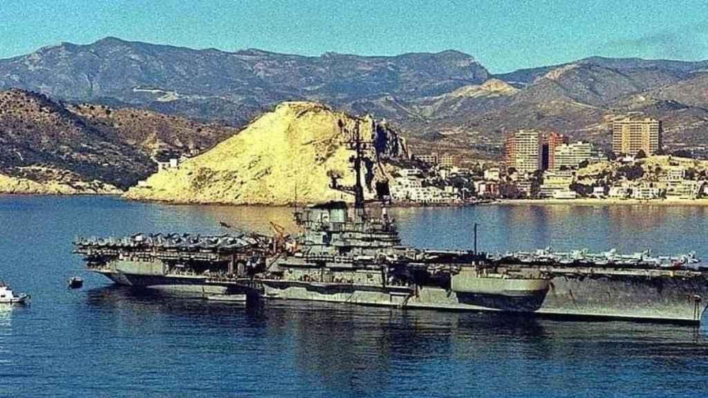 Lo mandos de la VI Flota americana se hospedaron en el Colón a finales de los 80.