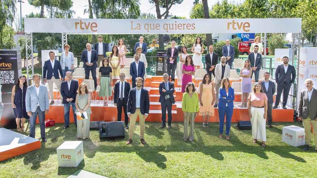 RTVE pretende renovar profundamente sus Informativos en septiembre.