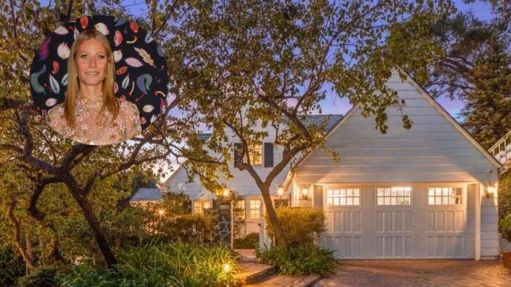 El exterior de la casa en la que Gwyneth Paltrow pasó su infancia.