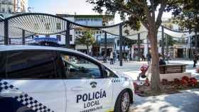 La Policía Local de Torremolinos, en una foto.