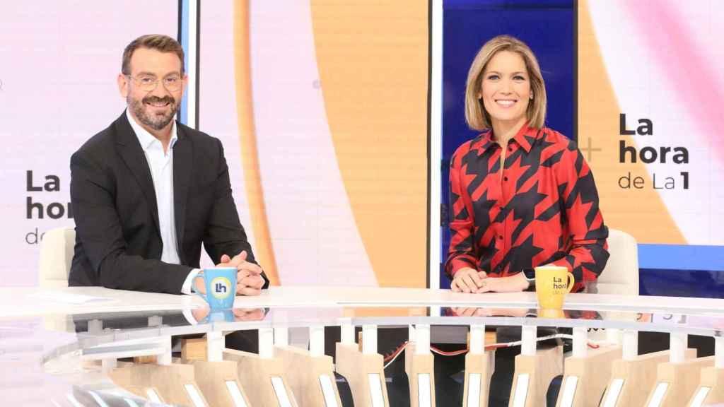 Marc Sala y Silvia Intxaurrondo presentarán 'La hora de La 1'.