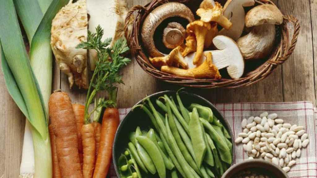 Los frutos secos forman parte de una alimentación saludable.
