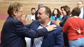 Ximo Puig y Rubén Martínez Dalmau. EE