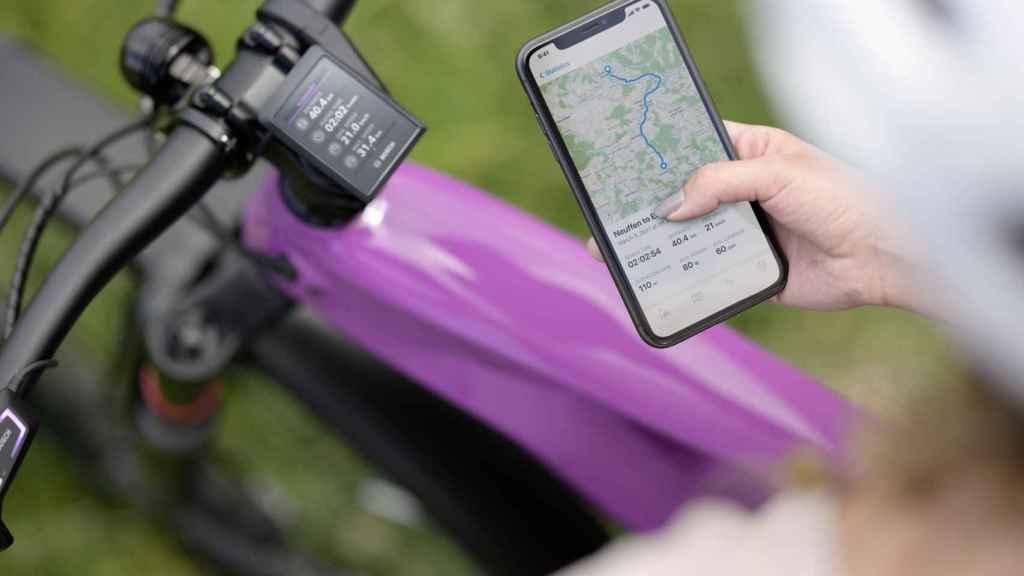 Aplicación y ordenador de a bordo en una bici eléctrica