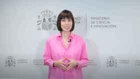 Diana Morant, ministra de Ciencia e Innovación, en el Encuentro de Ametic