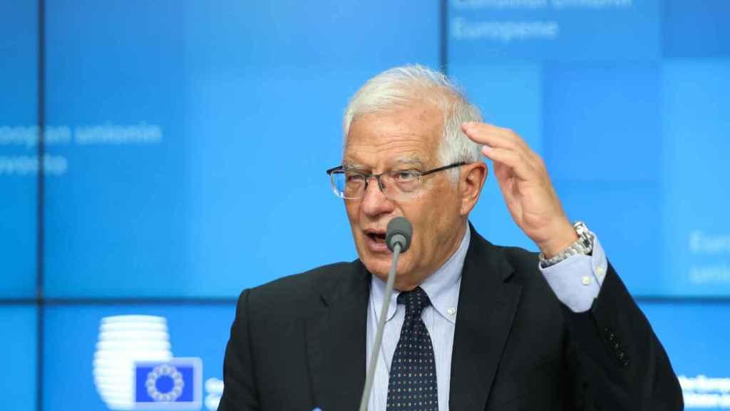 El jefe de la diplomacia de la UE, Josep Borrell.