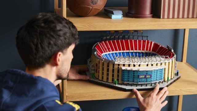 Camp Nou en Lego