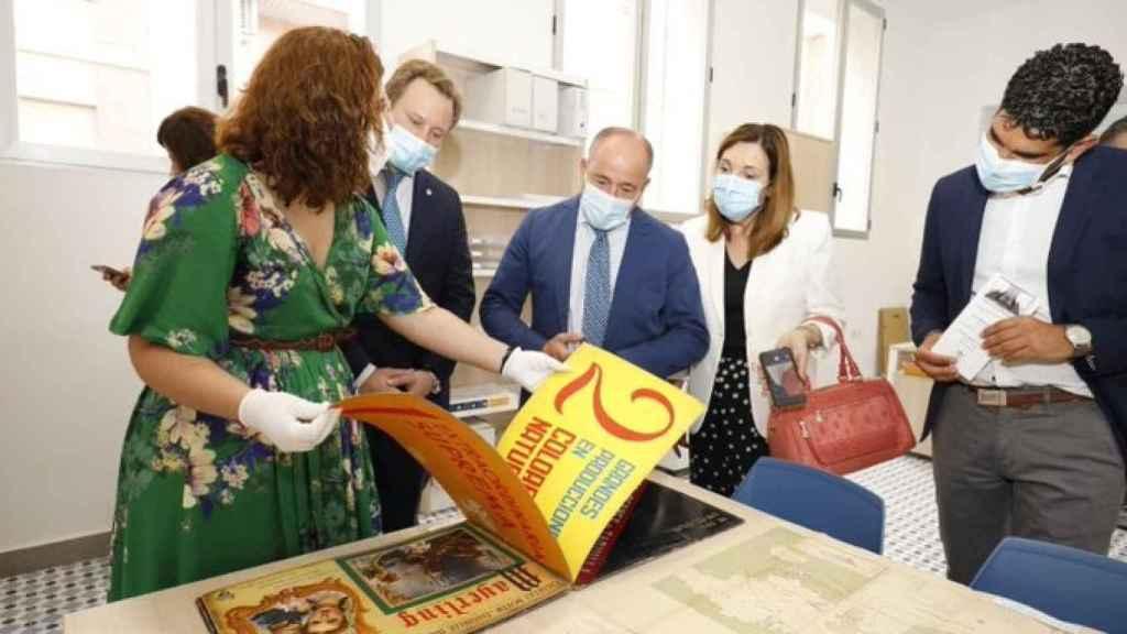 Inauguración del nuevo Archivo Municipal de Albacete