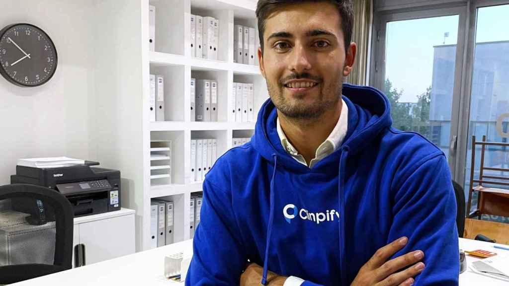 Alberto Zarco es el impulsor y CEO de la startup Clinpify.