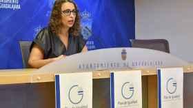 Sara Simón, concejal de Igualdad del Ayuntamiento de Guadalajara