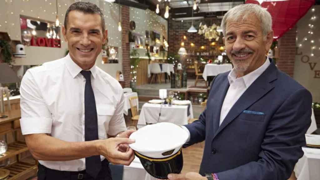 Jesús Vázquez sustituirá a Carlos Sobera al frente de 'First Dates Crucero'