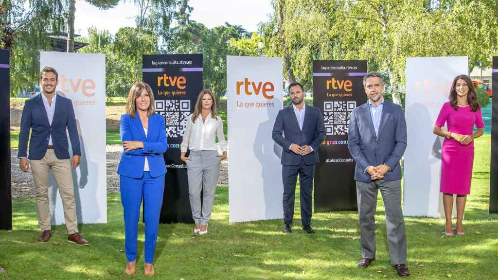 RTVE ha presentado las novedades de sus informativos para la próxima temporada.