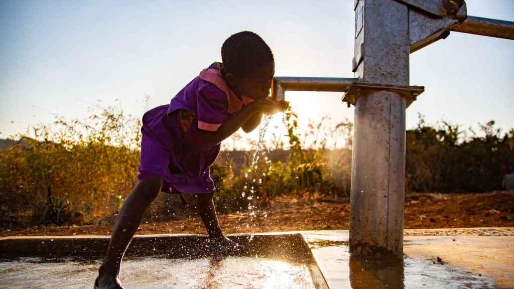 La aldea de Ireen ya cuenta con fuentes de agua potable.