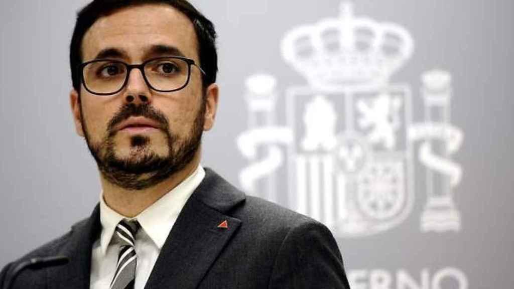 El Ministro de Consumo, Alberto Garzón. Efe