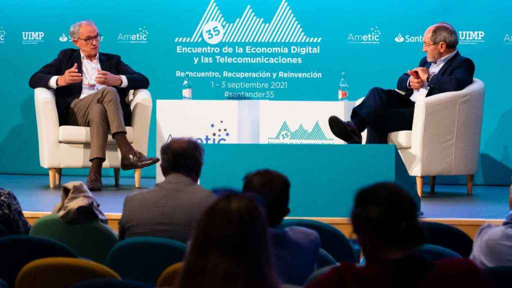 Instantánea del 35º Encuentro de Economía Digital y Telecomunicaciones de AMETIC.