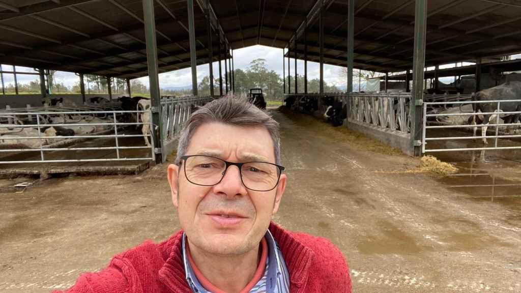 Román Santalla, de la Unión de Pequeños Agricultores (UPA).