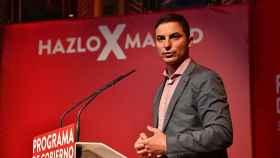 Juan Lobato, candidato a secretario general del PSOE de Madrid.
