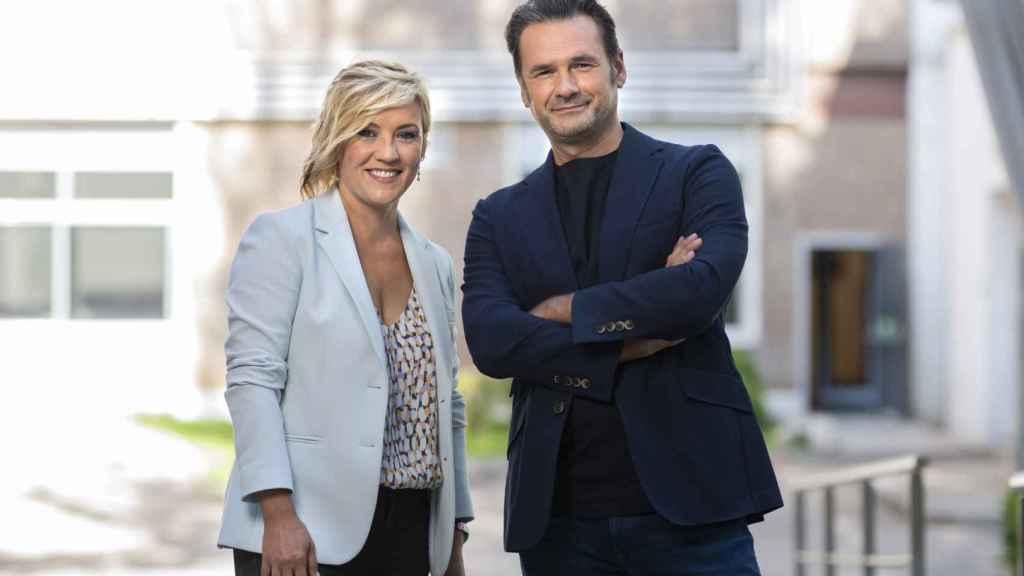 Cristina Pardo e Iñaki López estarán al frente de 'Más vale tarde' desde el 6 de septiembre.